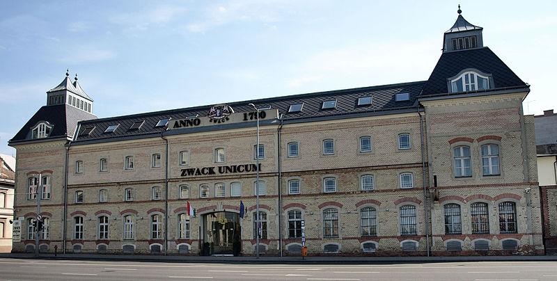 Zwack_Unicum_Rt._főépülete