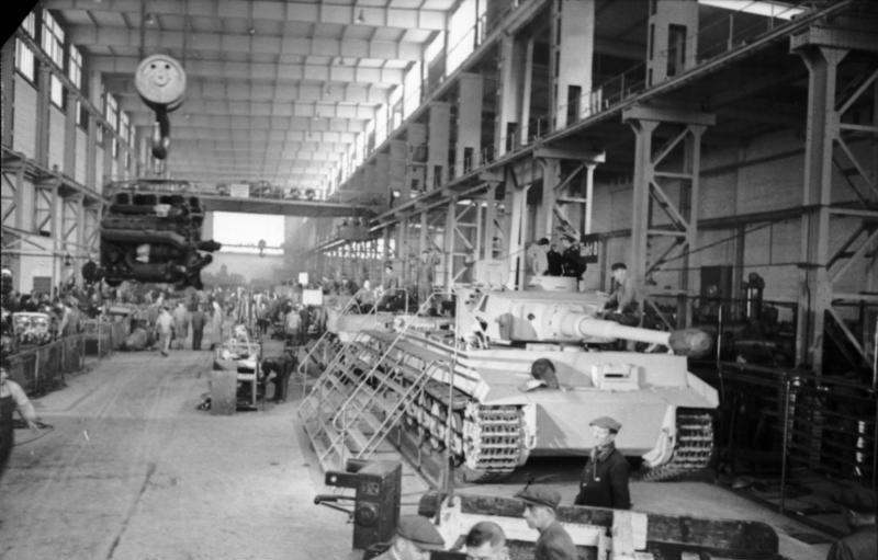 Panzerfabrik in Deutschland